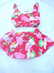 Fashion colorful baby bikini swim suit