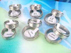 Stainless steel spinning rings, organic jewelry wholesale spinner rings, spin rings, spinner bands in contemporary designs