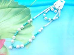 beaded-jewelry-set011faux-pearl-turquoise