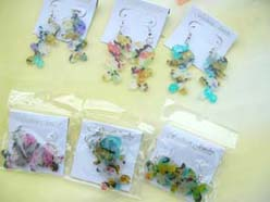 cute charactor charm earrings
