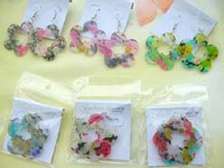 flower design fashion earring