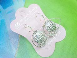 eye design crystal fashion earring