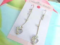 cz-dangle-pierced-earring001