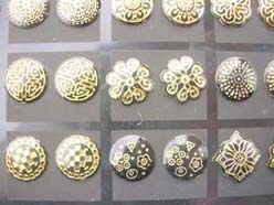 fashion-studs-earring-gold-tone-6c