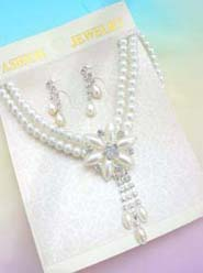 faux-pearl-crystal-flower-jewelryset017necklace-earring