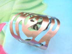 abstract design fashion jewelry bracelet