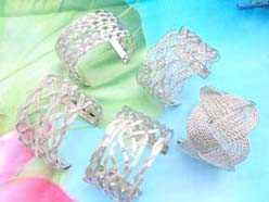 hot style fashion design bangle woven knotwork