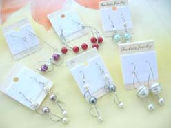 imitation pearl earring mixed designs
