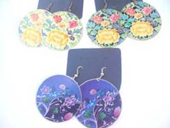 costume fashion jewelry beautiful roses flower design earrings