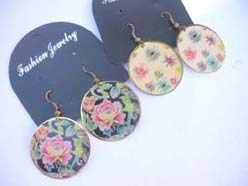 floral-coswomen's fashion jewelry flower earring