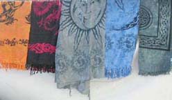 Celestial or tattoo kanga sarong