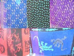 Gecko style fashion animal kanga sarong